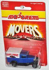 Majorette Movers Series 200 N #201 Ford Model A Orange Company MOC Vintage 1990s