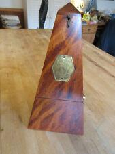 Antique Wooden Seth Thomas Metronome De Maisel Beautiful Condition, Works Great!
