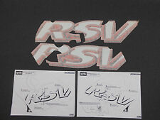 NEW GENUINE APRILIA RSV 1000 2000 HOT RED OPTIONAL FAIRING DECAL SET AP8167107