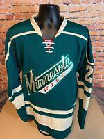 Minnesota Wild NHL Hockey CCM Authentic Mens Size 48 #29 Jason Pominville Jersey
