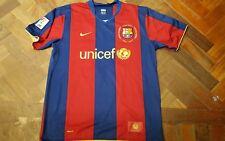 Maglia shirt  Barcellona  Liga Ronaldinho Camp nou 50 anos 2007