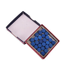 Box of 50pcs Glue-on Pool Billiards Snooker Cue Tips 9mm 10mm 13mm�€New
