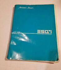 Ensoniq ESQ1 Digital Wave Synthesizer Musician's Manual