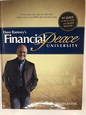 DAVE RAMSEY FINANCIAL PEACE UNIVERSITY HARDCOVER WORKBOOK *New*