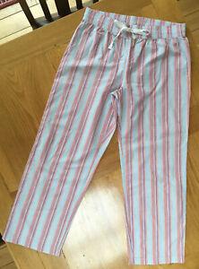 Lovely Gap Striped Pyjama Bottoms. 100% Cotton. Size Medium (12-14+?) Excellent!