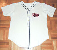 Detroit Tigers Vintage 90s Jersey Button Down MLB Baseball Sparky Fits Large