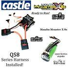 Castle Creations MAMBA MONSTER X 8S ESC 1520-1650KV Motor QS8 Series Harness