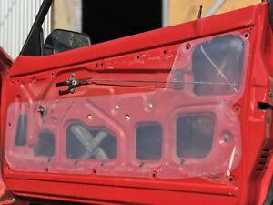 Pair of Suzuki Mighty Boy Ute Inner Door Trim Gasket, Moisture & Dust Seals.