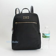 NEW Kate Spade New York Blake Avenue Hilo Small Backpack Black Nylon NWT