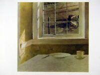 Andrew Wyeth Gravure Print GROUND HOG DAY & CIDER AND PORK, Kuerner's