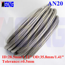 20 AN20 20-AN AN-20 Braided Stainless Steel  Fuel Line Oil Gas Hose  10M 32.8FT