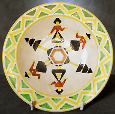 LOVELY VERY EARLY, VERY RARE ASHTEAD POTTERS PLATE PAINTED by ALBERT VINCENT