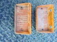 70 Chevelle Parking Light Lens Amber Used
