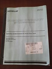 Caterpillar Custom Product Operation&Maintenance for Snow Plow Tools GEBJ0244 01