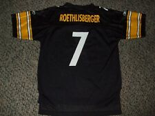 "Ben Roethlisberger ""Big Ben""  # 7 Pittsburgh Steelers Youth Football Jersey L"