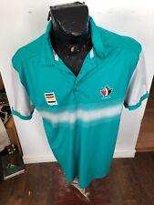 MENS Large HBC Collared Polo Shirt Team Canada Golf