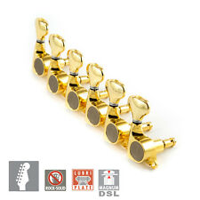 Gotoh SGS510Z-S5 MG Set L6 MAGNUM LOCK DSL 6 IN LINE w screws 1:18 Ratio - GOLD