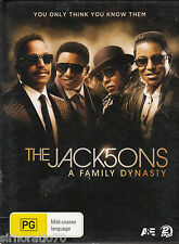 THE JACK5ONS A Family Dynasty DVD - Jacksons - R4