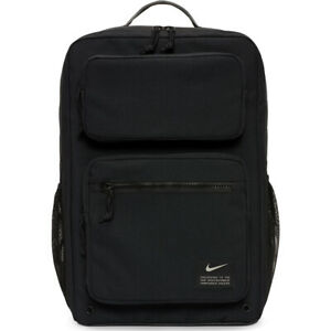 Nike Utility Speed Training Backpack Mens Black Size 27 Litre Sportswear Bag