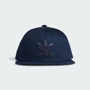 Adidas Originals SB Classic Trefoil Snapback Cap Collegiate Navy Free Postage