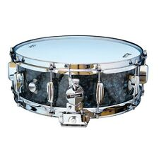 """Rogers Dynasonic 5"""" x 14"""" Wood Shell Snare Drum - Black Pearl"""