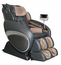 Charcoal Osaki OS-4000T Zero Gravity Massage Chair Recliner w/ Foot Rollers