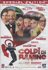 Dvd «COLPI DI FULMINE» con De Sica Lillo & Greg Barbato Ranieri Arisa nuovo 2012