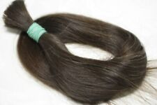 "LUX with GRAY THIN Natural Ukrainian Slavic Hair Extension 55cm/21,7"" 54gr/1,9oz"