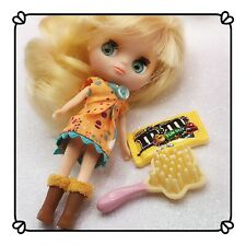 Littlest Pet Shop Rare LPS BLYTHE DOLL Pinwheels & Daisies B5 Blonde With Outfit