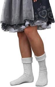 Trachten Socken Oktoberfest Kniestrümpfe für Dirndl Lederhosen Wiesn Unisex
