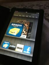 Amazon Kindle Fire (2011), Black, 6 GB, Bundled with ChargerCord and Free Case