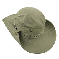 Bucket Hat Wide Brim Cap Hunting Fishing Outdoor Safari Summer Men Women Unisex