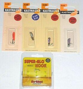Acme Kastmaster 1/24 Spoons & Super Glow Trebles (KMN5 Package)