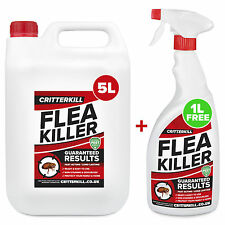 5L + 1L STRONG FLEA KILLER SPRAY AEROSOL FLYING CRAWLING INSECT INSECTICIDE HOME