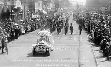 Photo. 1913. Saskatoon, Canada. 1st Prize Car in Auto Parade - Celebration