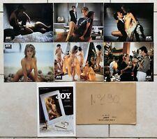 JOY avec Claudia UDY - 6 photos Lobby Cards erotiques + Synopsis