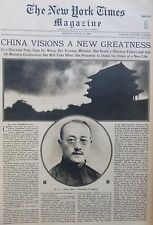 CHINA WANG LONG BEACH - CONNIE MACK ATLANTIC WASHINGTON 8-1929 August 4 NY Times