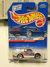 1998 Hot Wheels First Editions 33/40 White Ford Bad Mudder Pickup Truck Sb 662