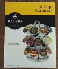 Keurig Carousel  Holds 27 K-Cups Chrome Plated