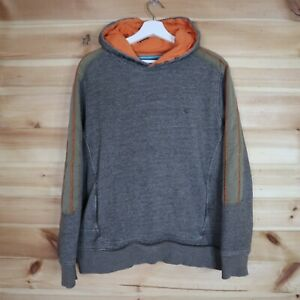Fat Face Utility Hoodie Brown Large