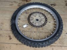 Suzuki RM125 RM250 Front Wheel Rim Hub *Bad tire* 1996