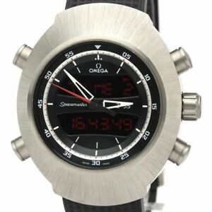 Never Used OMEGA Speedmaster Spacemaster Z-33 Watch 325.92.43.79.01.001 BF525347