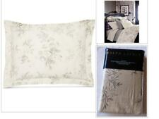 $115.0 Ralph Lauren Hoxton Collection, Ainslie Floral-Print King Sham Cream Grey