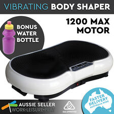 Ultra Slim Body Shaper Vibration Massager  Machine Plate Platform  Exercise Fitn
