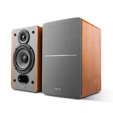 Edifier P12 Passive Bookshelf Speakers - 2-way Speakers with Built-in Wall-Mo...