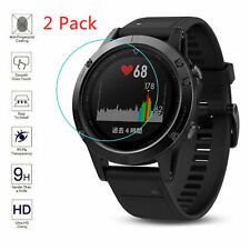 2x Clear Tempered Glass Film for Garmin Fenix 5S 5 Transparent Screen Protector