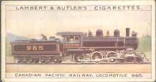 Lambert & Butler - World's Locomotives (1-50) - 47 - Canadian Pacific