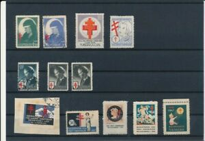 D163698 Yugoslavia Medicine Tuberculosis Aid Nice selection of Seal - Poster Sta