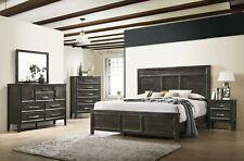 New Classic Furniture Andover Nutmeg Queen 6 Piece Bedroom Set