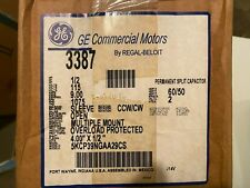 New GE 3387, 1/2 HP HVAC MOTOR, 115 Volts, 5KCP39PGM438S